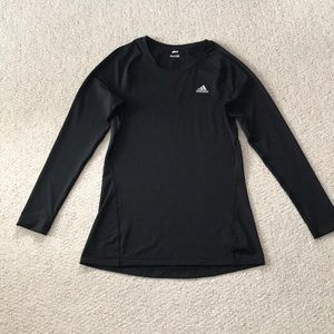 Adidas long sleeve fitness top, size small.
